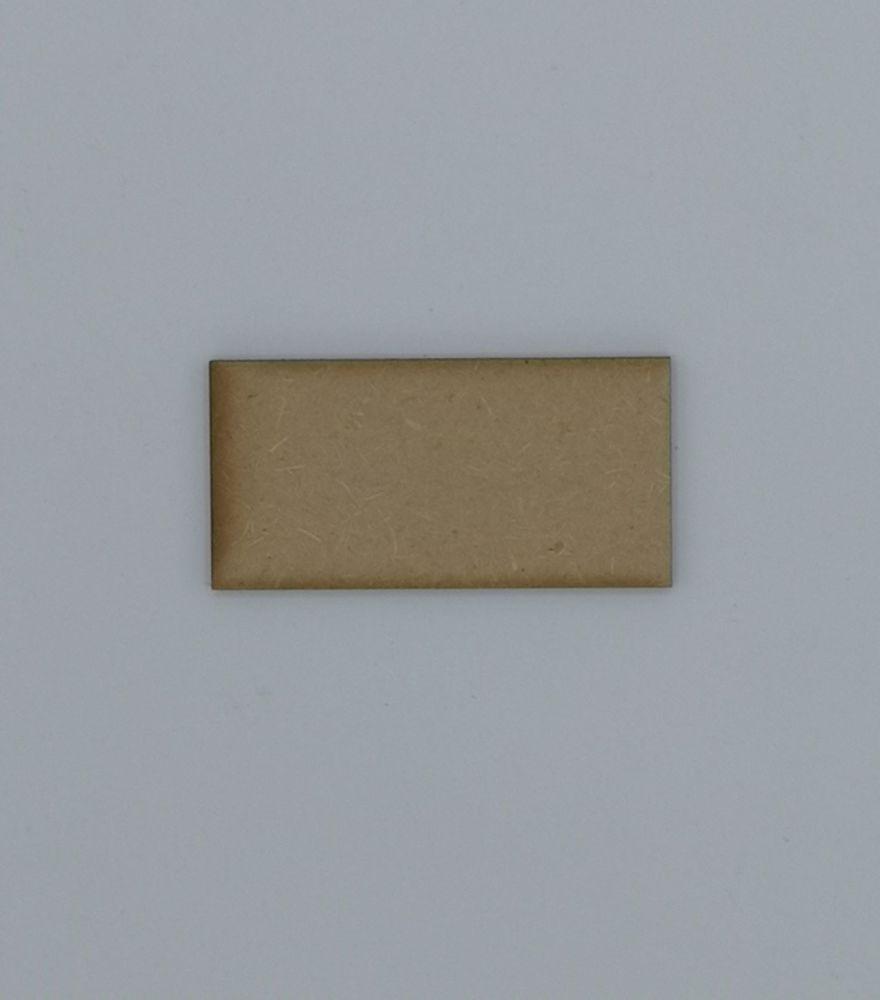 Wooden Rectangle - Craft Shape