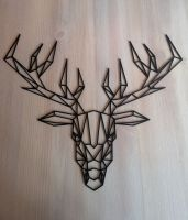 Geometric Stag Head (style A)