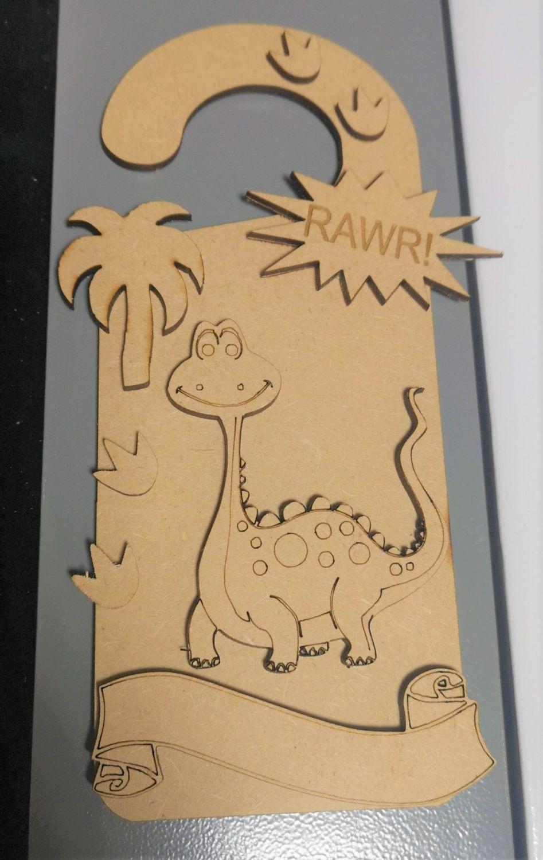 Dinosaur Door Hanger