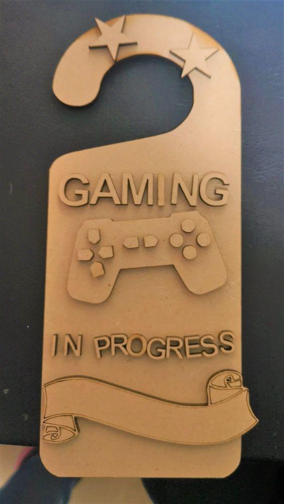 Gaming Door Hanger