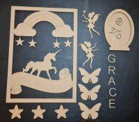 Unicorn and Fairy Children's Crafting Kit