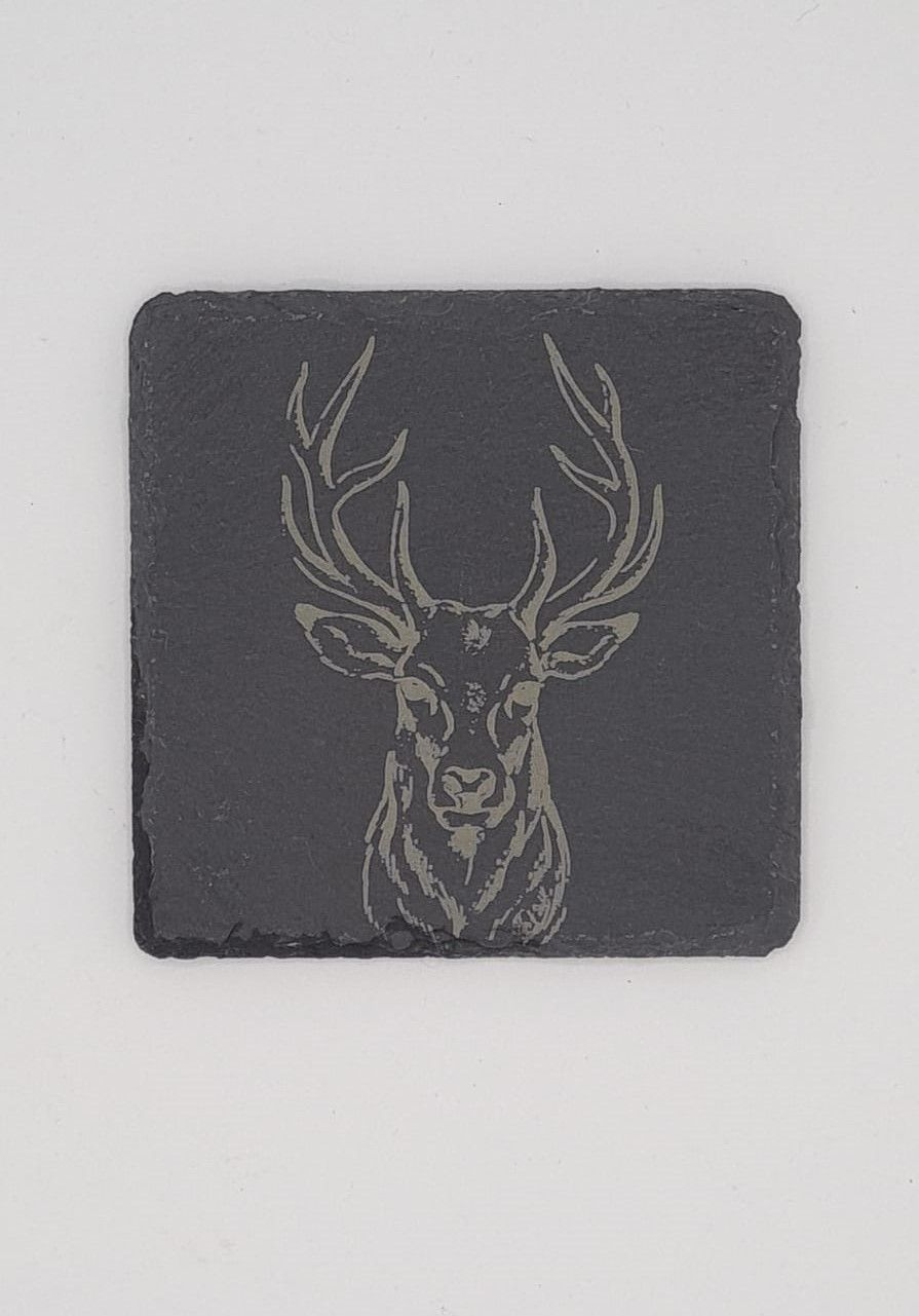 Stag Head Coasters