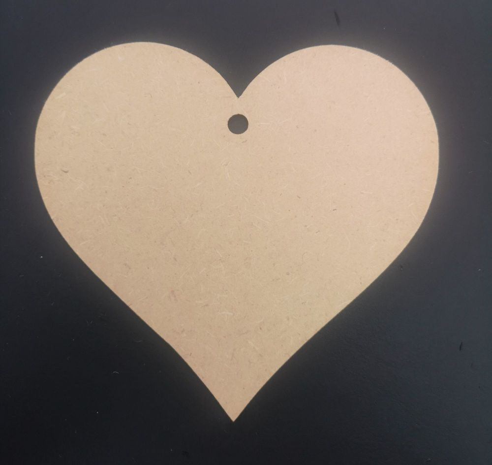 Wooden Hearts - Pack of 48