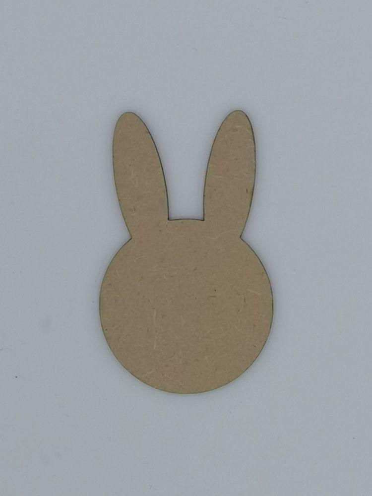 Wooden Rabbit Head