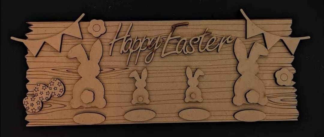 Decorate your own Easter Sign
