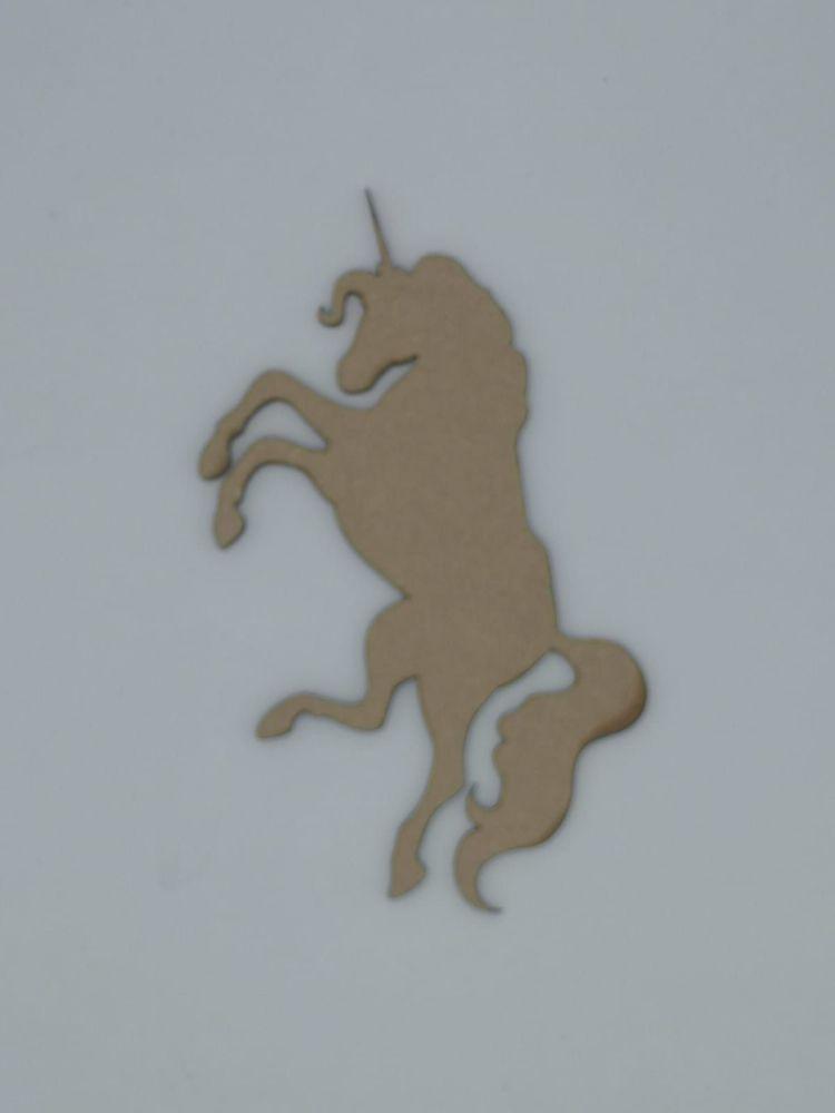 Wooden Unicorn - Craft Shape