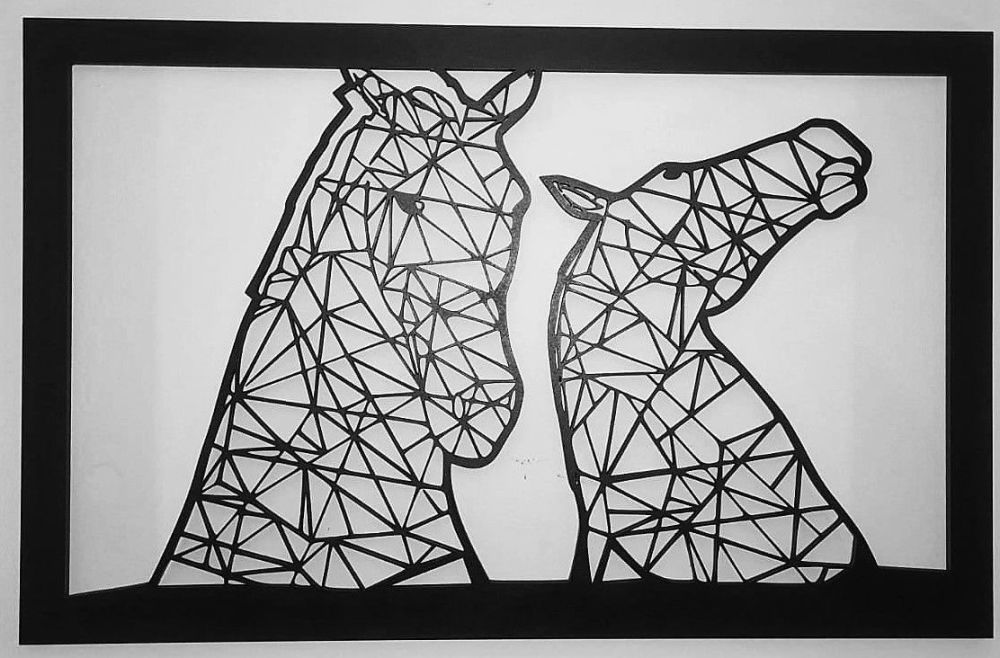 Falkirk Kelpies Wall Art