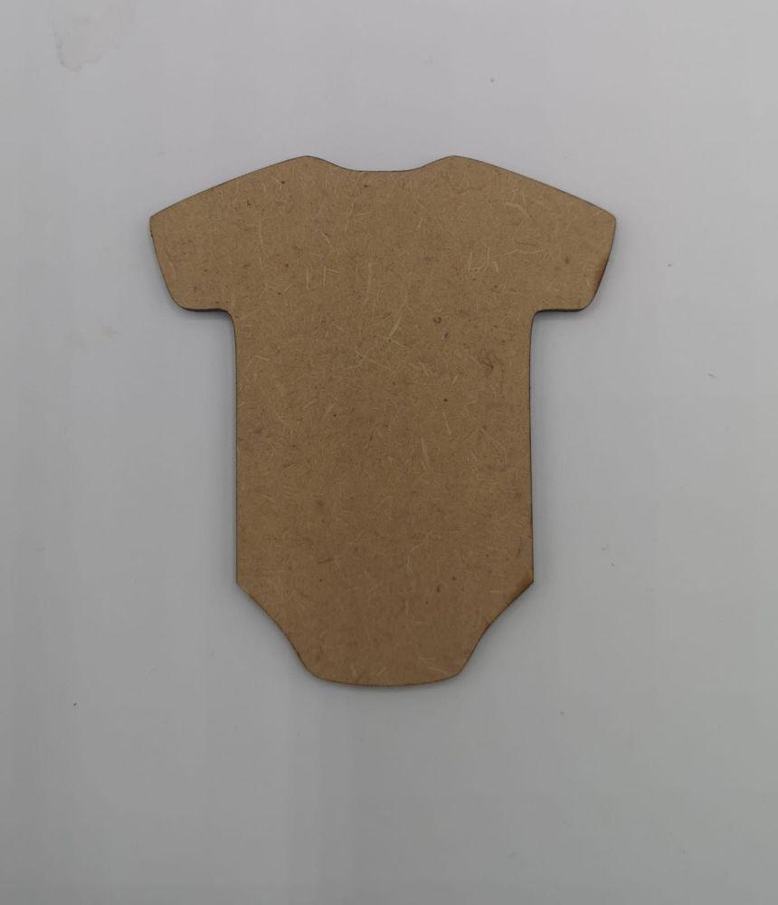 Baby Vest Blank Craft Shape