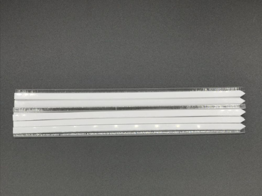 """7"""" (178mm) x 5mm clear Acrylic Cake Topper Sticks - Pack of 50"""