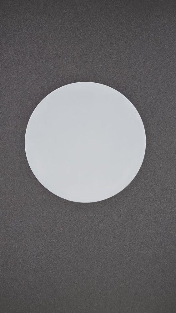 8cm Blank Acrylic Disc