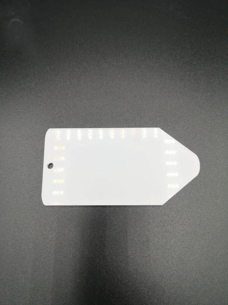 Pencil Shape Acrylic Keyring