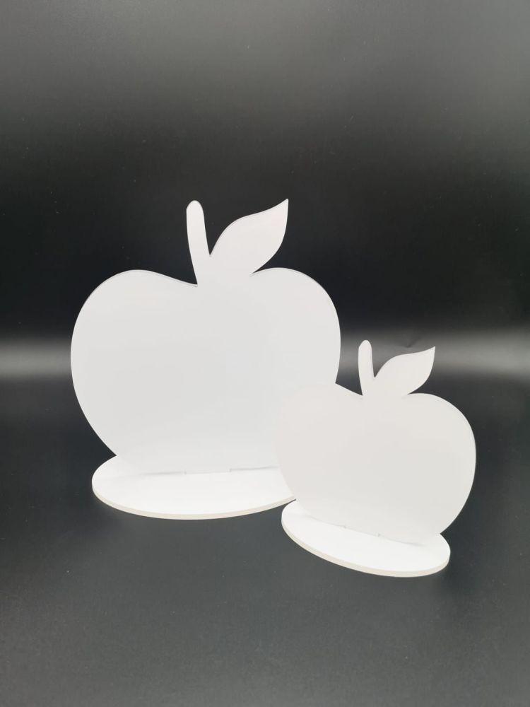 Freestanding Acrylic Apple