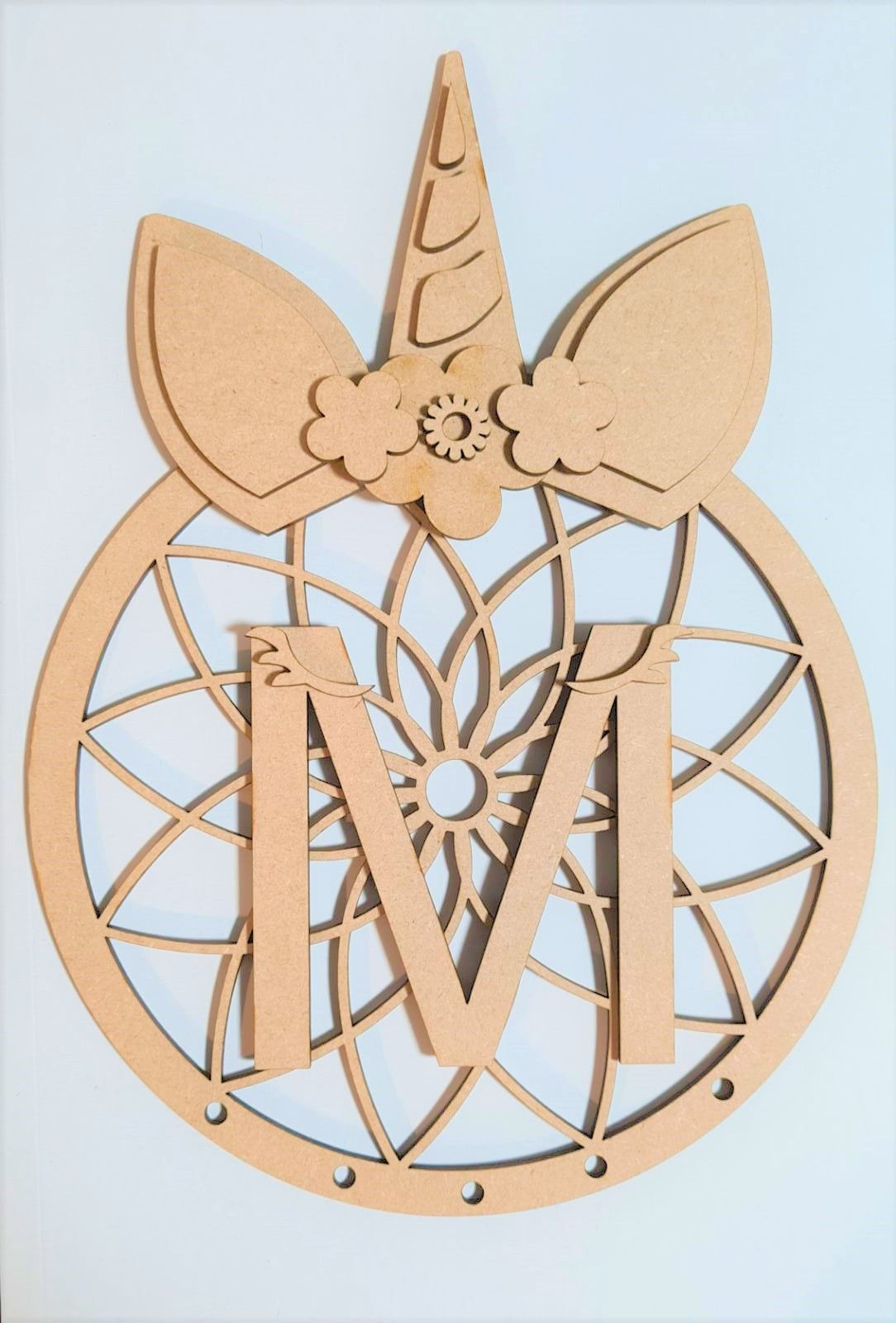 Wooden Dream Catchers - MDF Craft Shapes - Personalised Dream Catchers