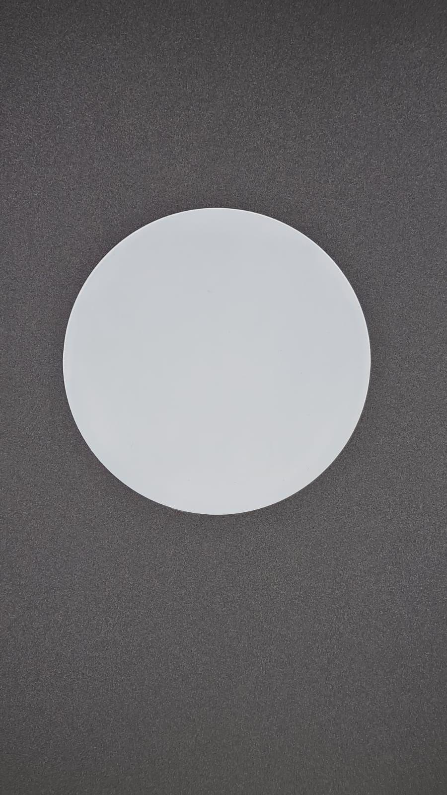 7cm Blank Acrylic Disc
