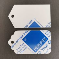 White Acrylic Gift Tags