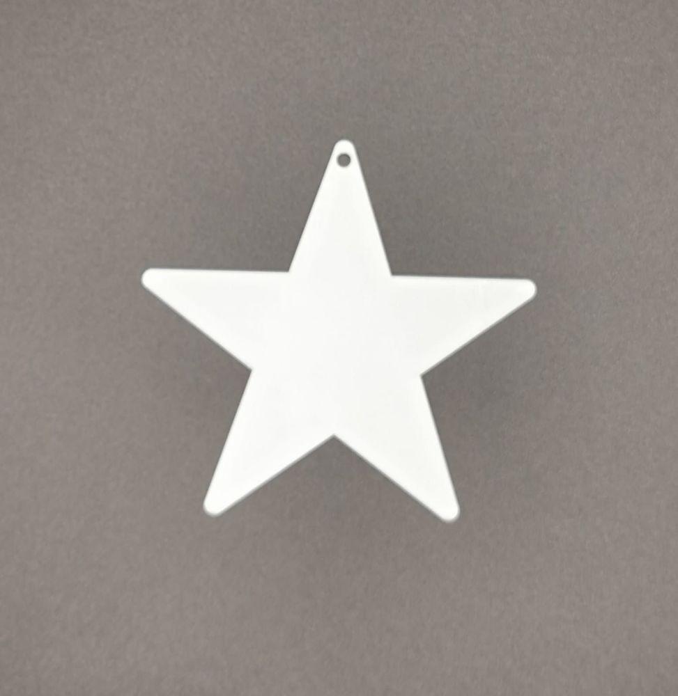 Acrylic Star Bauble