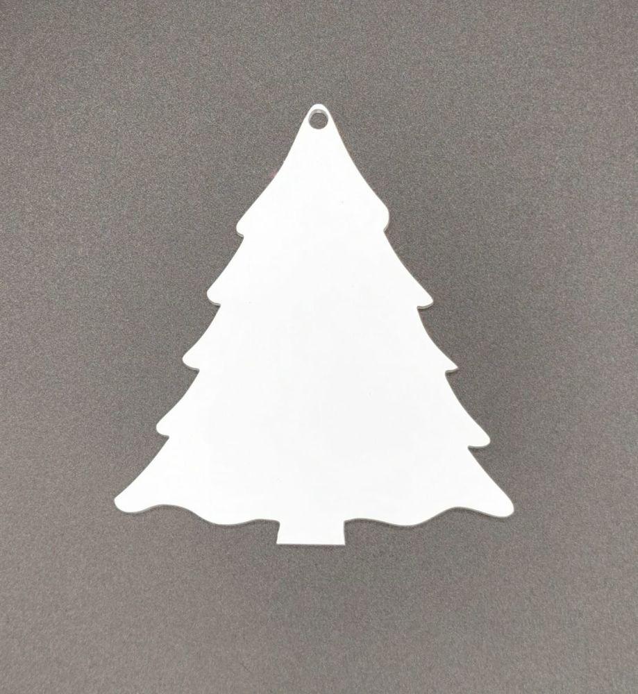 Acrylic Christmas Tree Bauble
