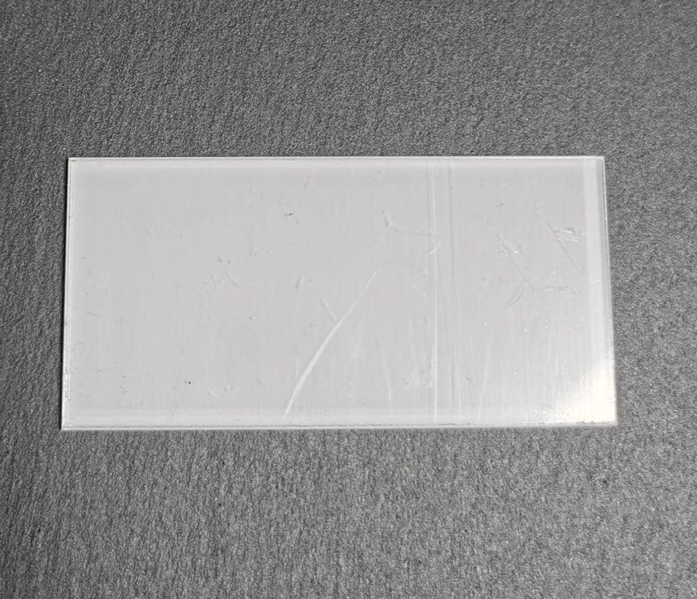 Clear Acrylic 8cm x 4cm Rectangle