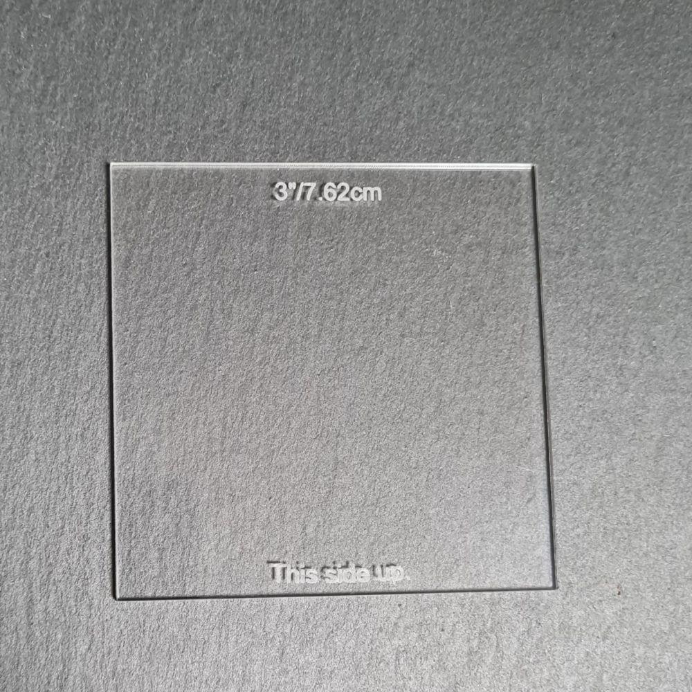 Ganache Plates - Square 3