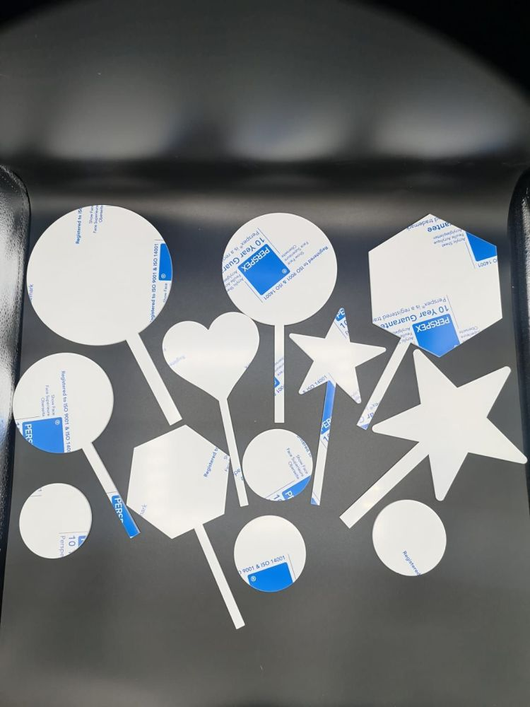 Cake Topper Multipack Box - Frosted