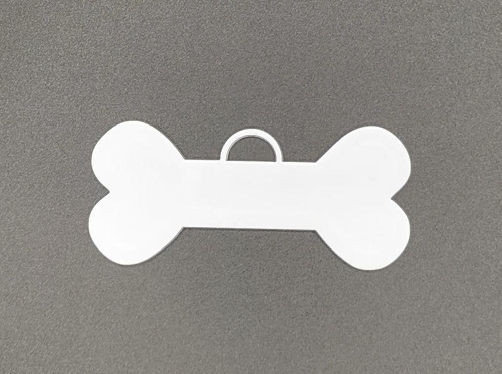 Acrylic Bone Bauble - Pack of 8