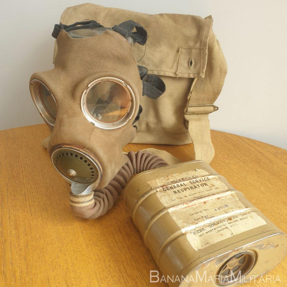 Siebe Gorman Home front MKIV General Service Respirator