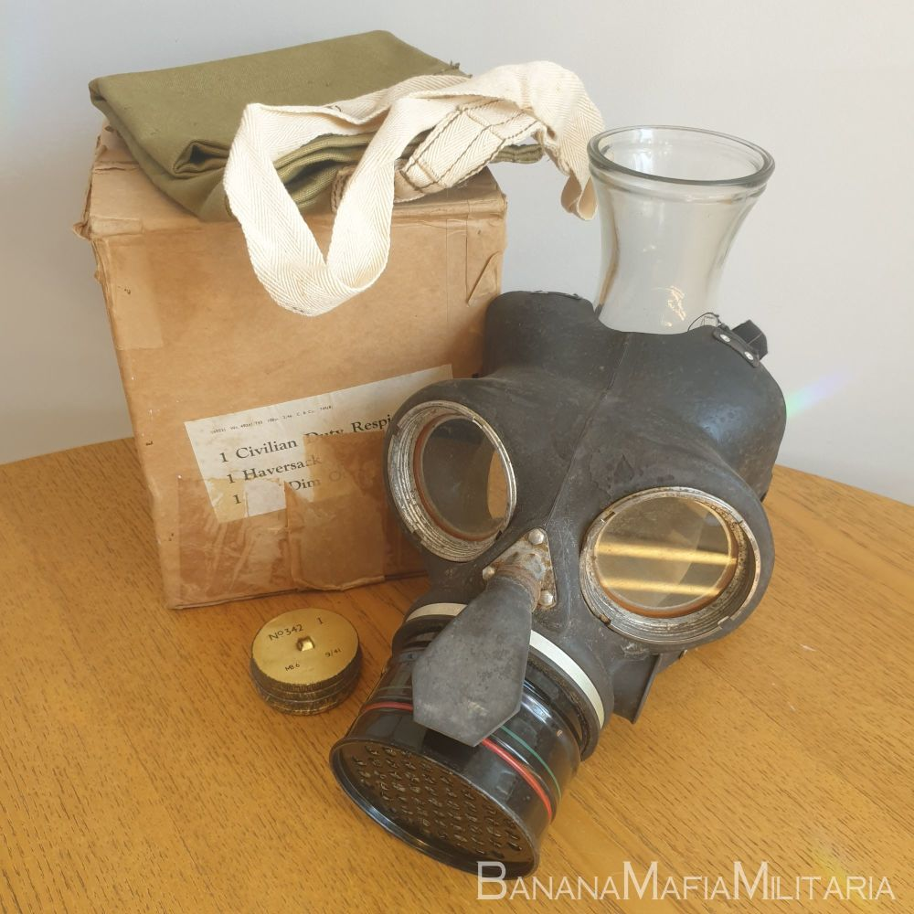 Civil Duty Respirator - WW2 Home front