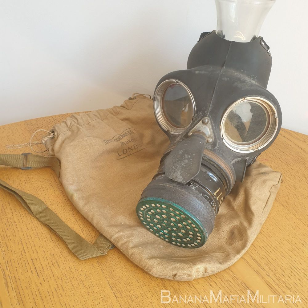 Siebe Gorman WW2 Home front Civil Duty Respirator