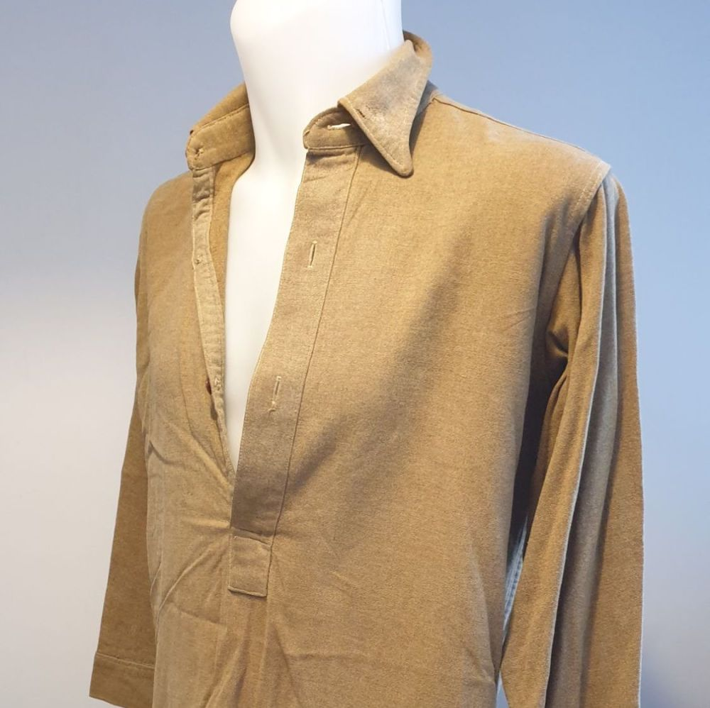 Original WW2 dated British army uniform wool shirt - 1944 dated