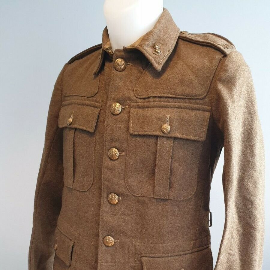 British Army 1922 pattern service dress jacket - RGA WW2 DATED