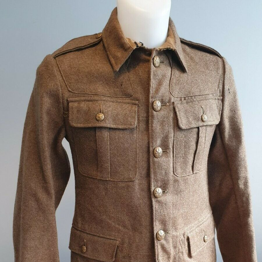 British Army 1922 pattern service dress jacket -Original WW2 dated