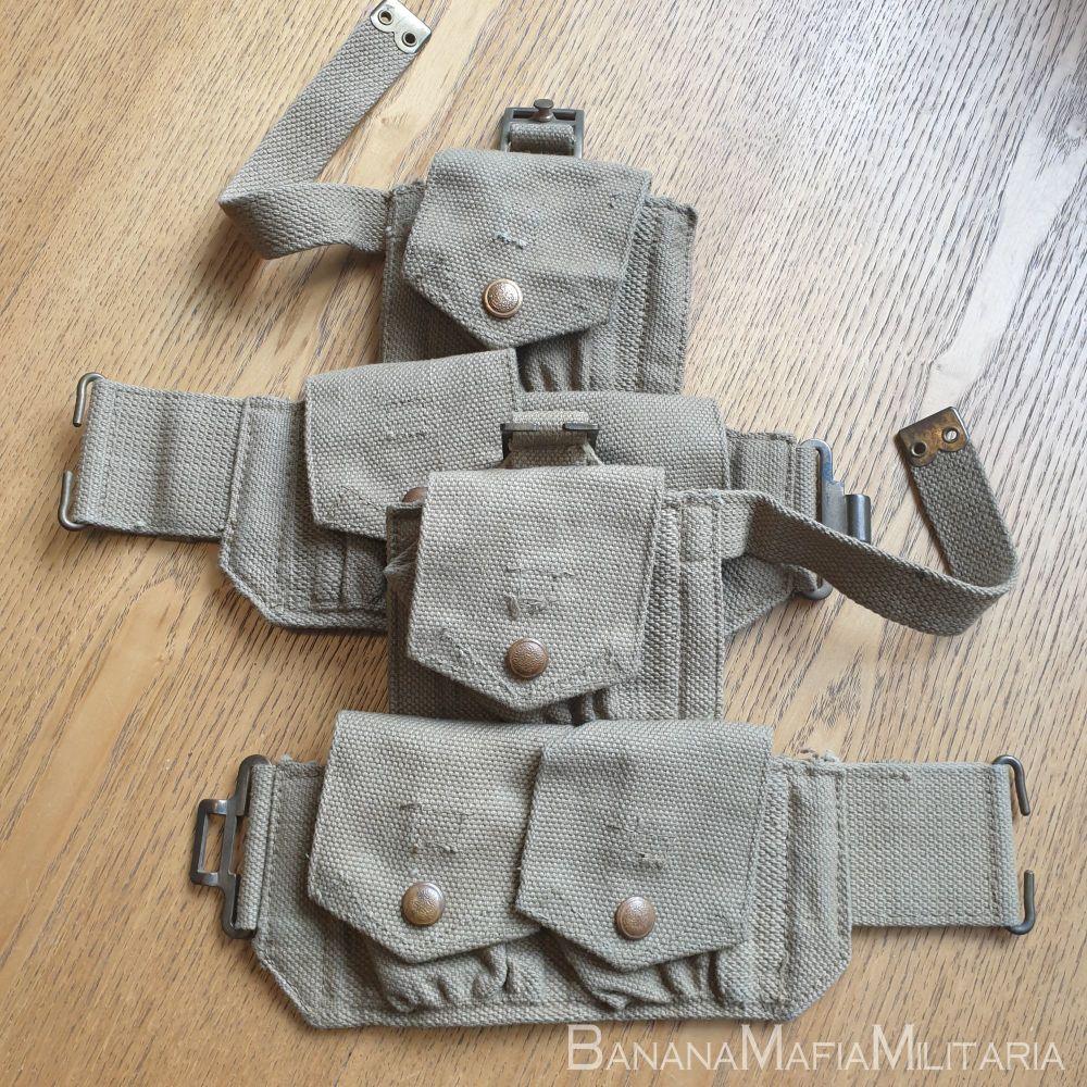 1940 CAVALRY Equipment, Patt. '40, pouch, ammunition Pair MECO WW2 RARE BRI