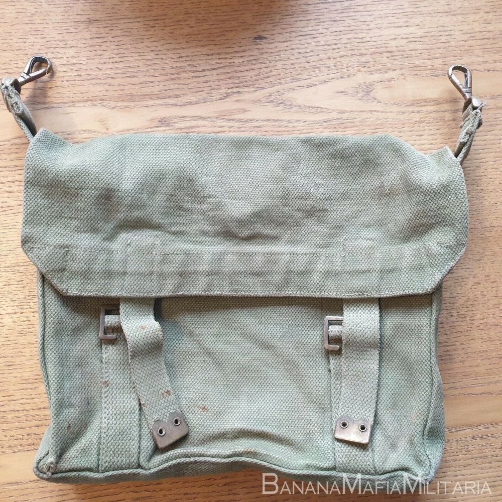 WW1 Pattern 1908 HAVERSACK period coverted for OFFICERS USE ON SAM BROWNE
