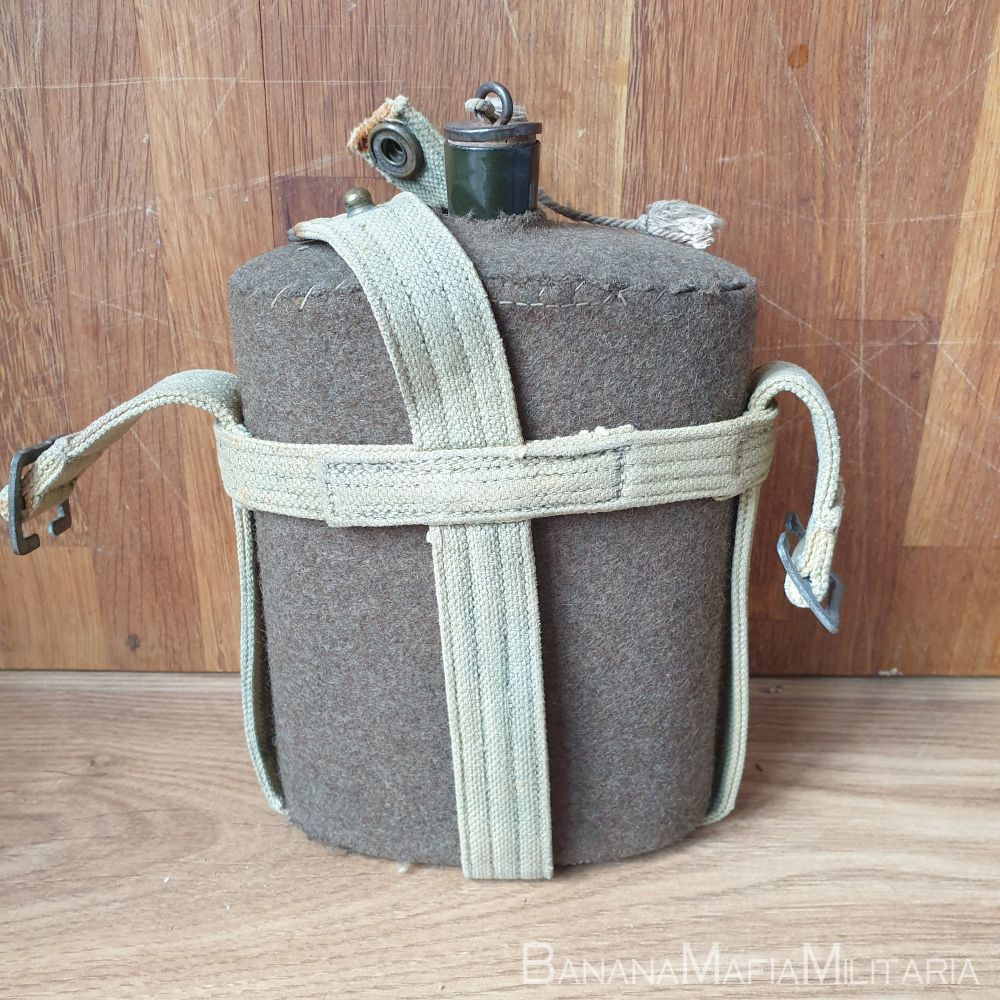 1937 patt '37 pattern webbing - CANADIAN Water bottle canteen and carrier