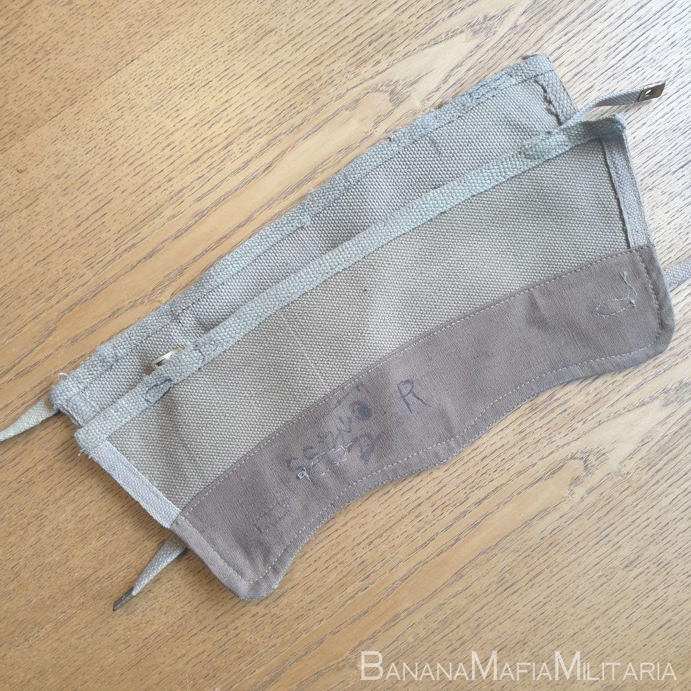 Web Equipment, Patt. '37, Uniform webbing Gaiters/Anklets 2 buckle WW2