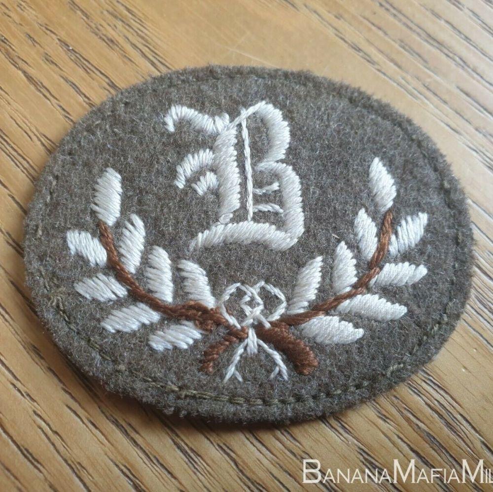 BRITISH ARMY PAY GRADE 'B' TRADESMAN BADGE