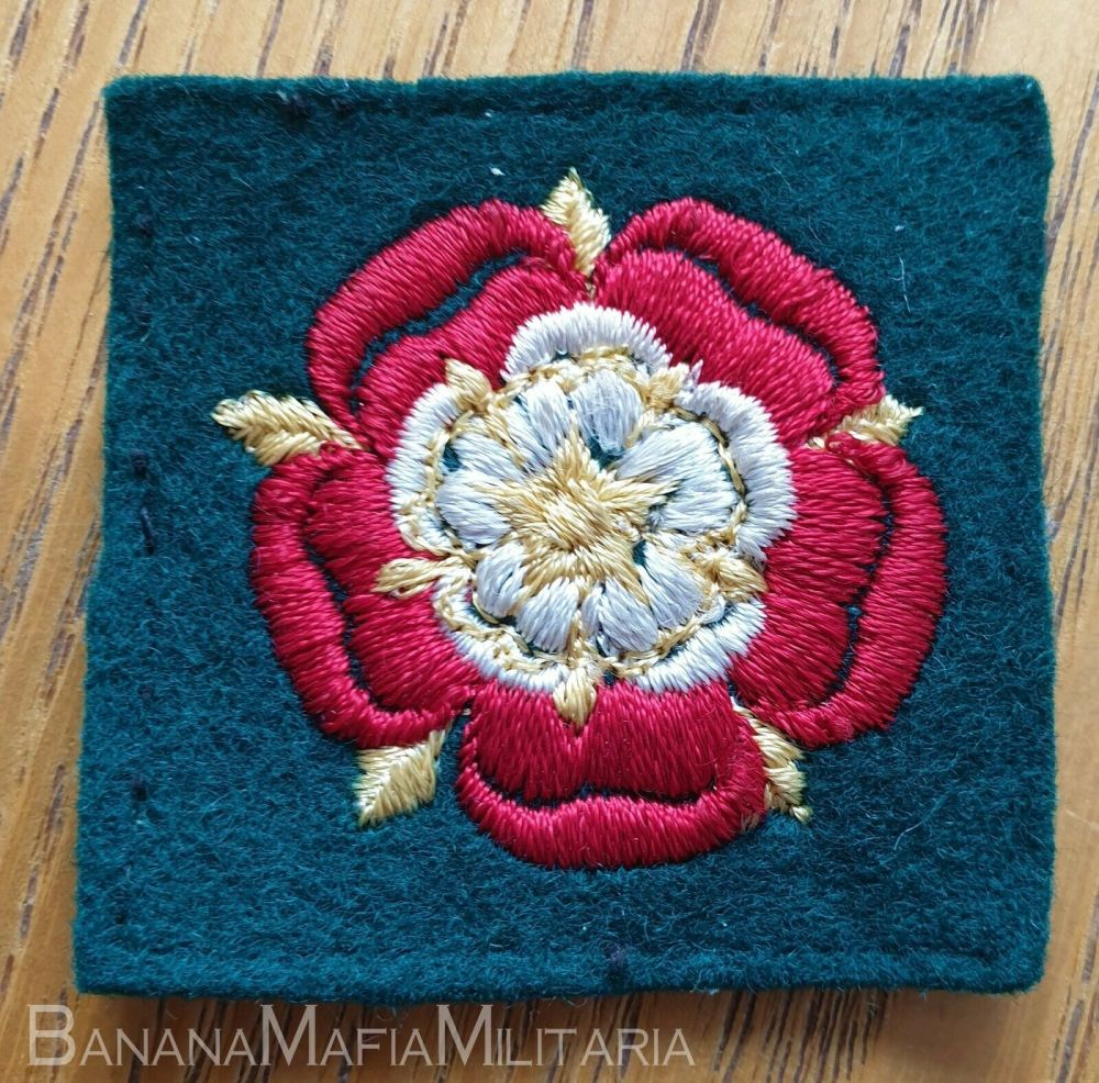 BRITISH ARMY CATTERICK DISTRICT EMBROIDERED FORMATION BADGE