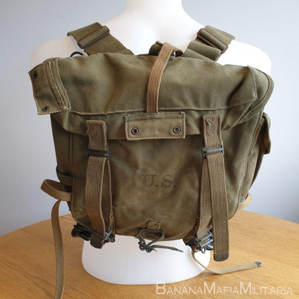 WW2 1945 Dated - US m1945  Combat Field Pack UPPER