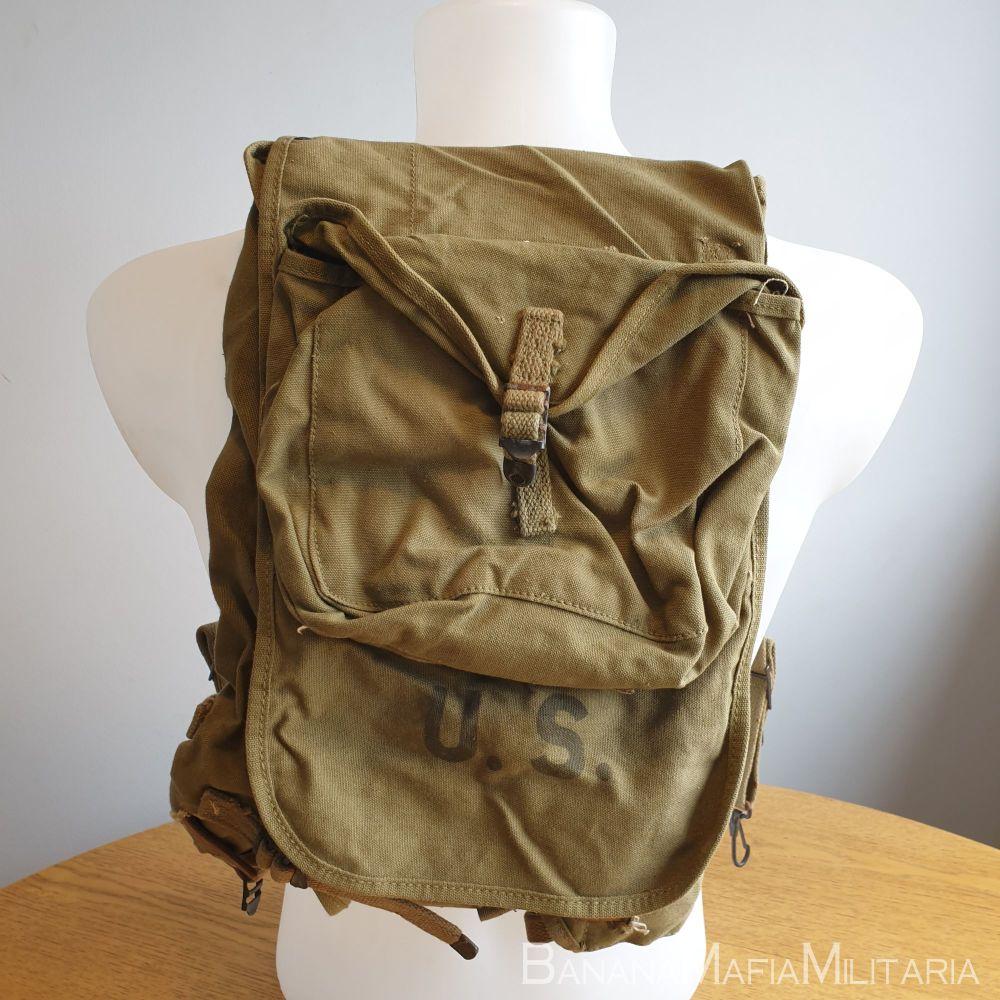 Original WW2 US M-28 M1928 Haversack Backpack 1942