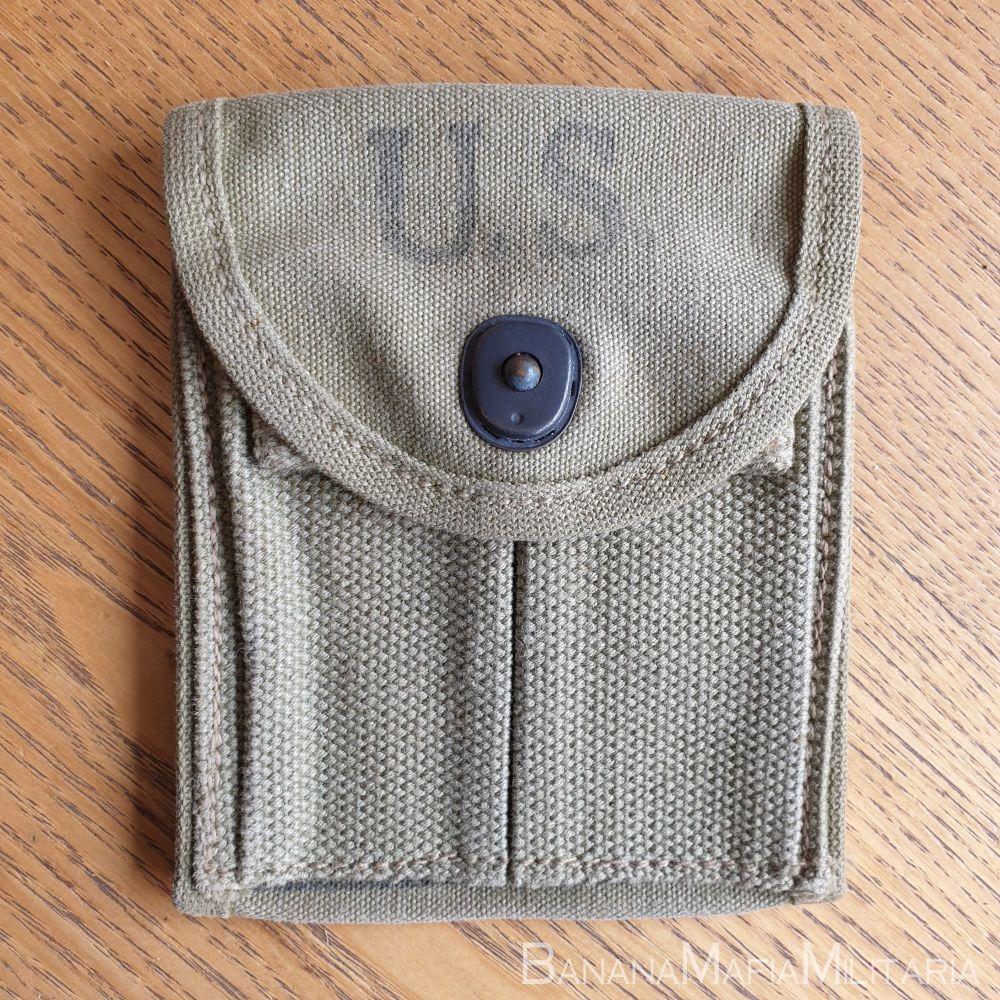 WW2 US M1 Carbine magazine pouch - AVERY 1943