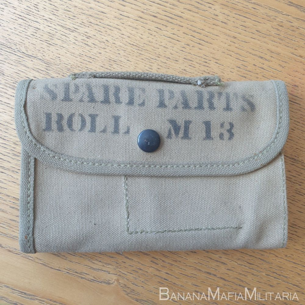 US M13 Spare parts roll - ww2 browning - rock island arsenal