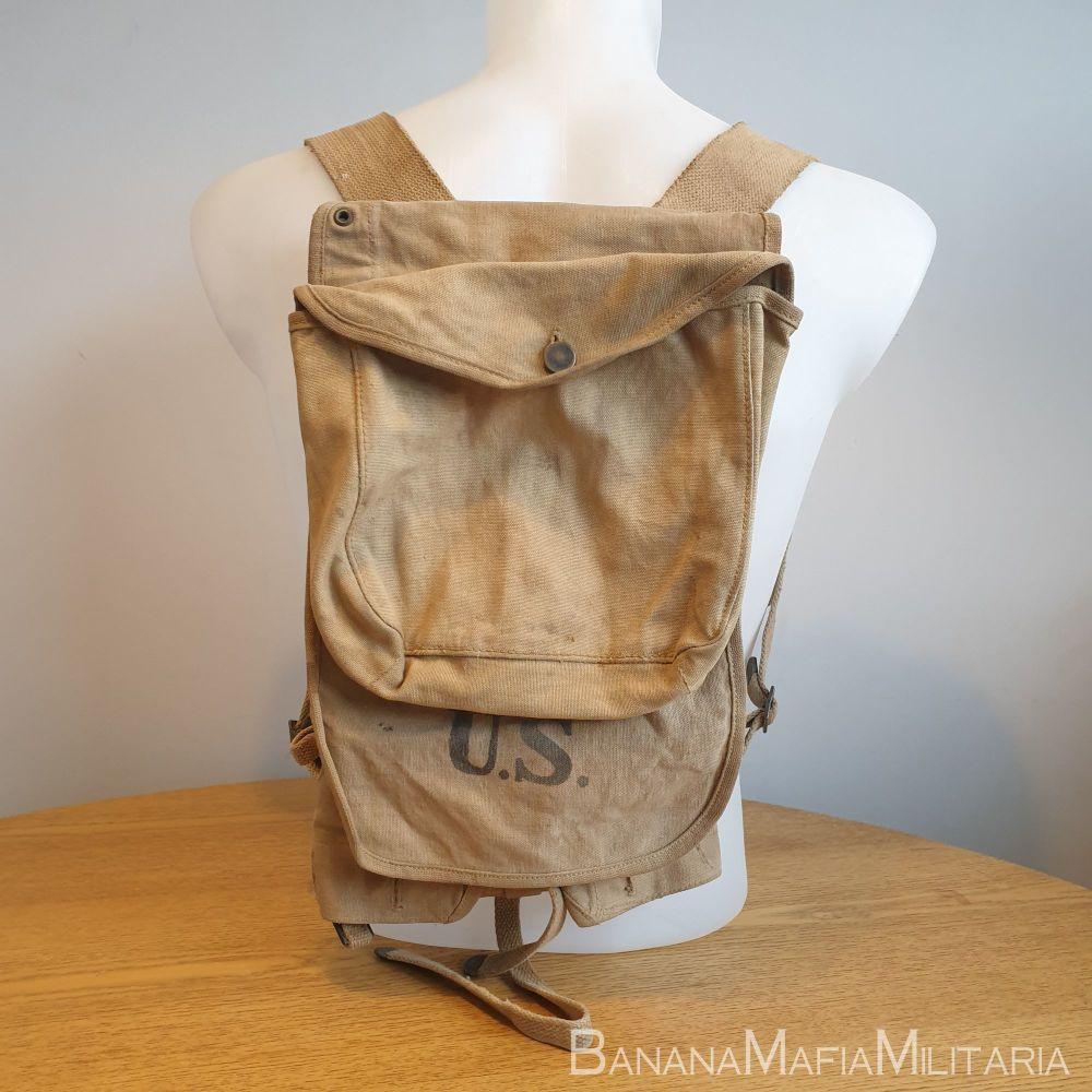 Original WW2 US M-10 M1910 Haversack Backpack 1918
