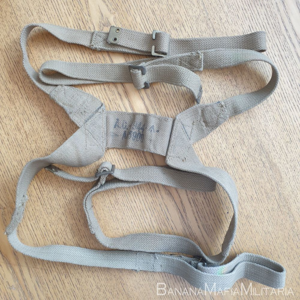 WW2 British army AA 5900 Harness, carrying, infantry 1944 load carrying str