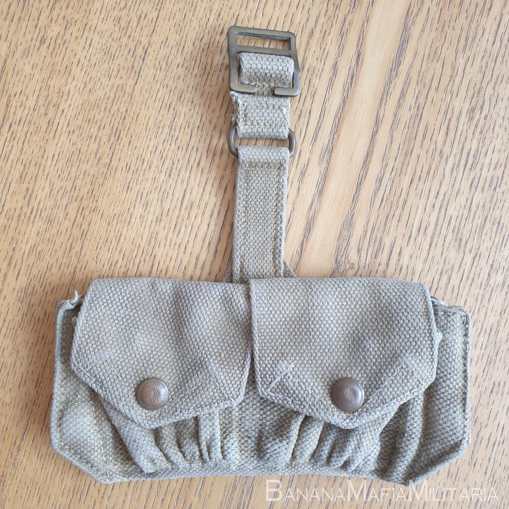 1937 Web Equipment, Patt. '37, Carriers, Cartridge Ammo pouch 1940 MECO
