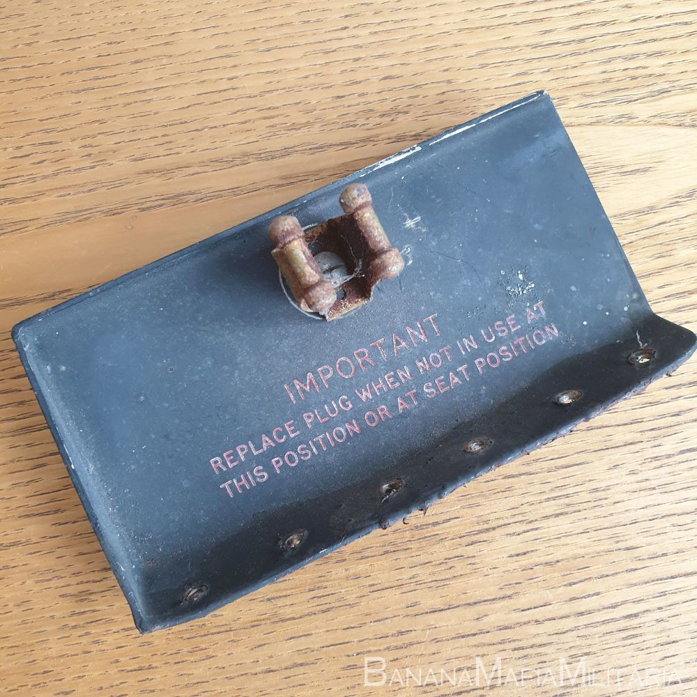 Canberra T22 Aircraft RAF WH801 plug cover