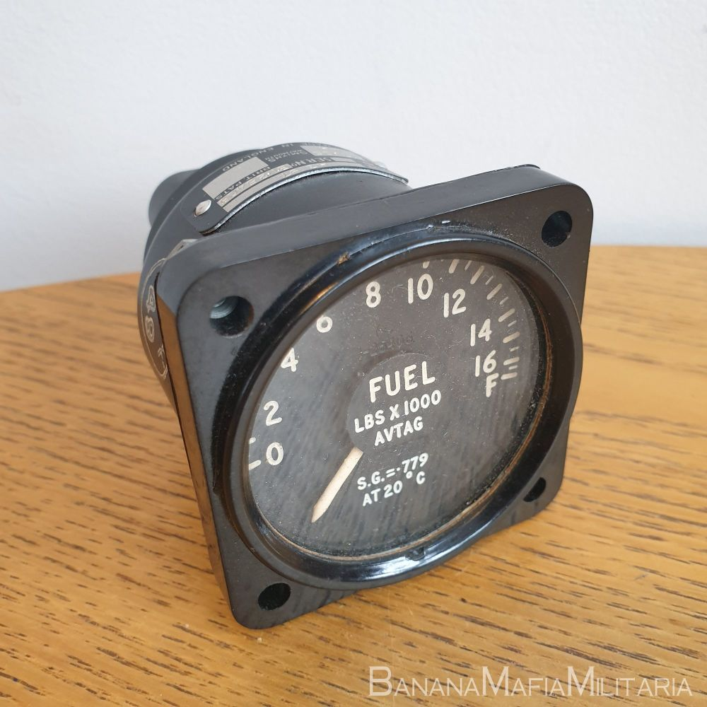 RAF Fighter Aircraft Fuel Quantity indicator Gauge Lbs X 1000 AVTAG SMITHS