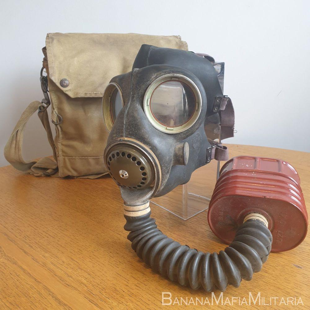 MK V GSR - British WW2 general service respirator Mark 5 with Type E Mk VI