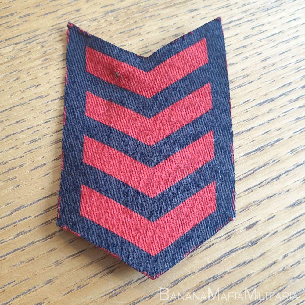 British WW2 war service chevrons ARP - 4 year service badge