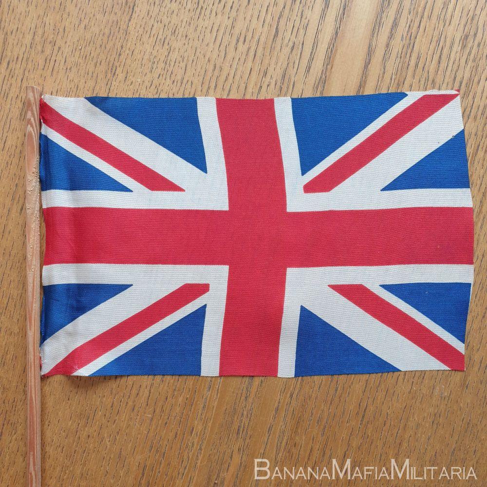 VE day flag  22x14cm (on hand held pole)