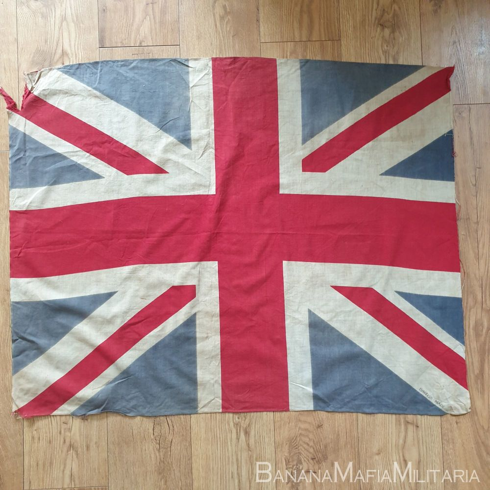Beautiful WW2 Era Union Jack  VE Day Flag - Printed 108 x 83 cm